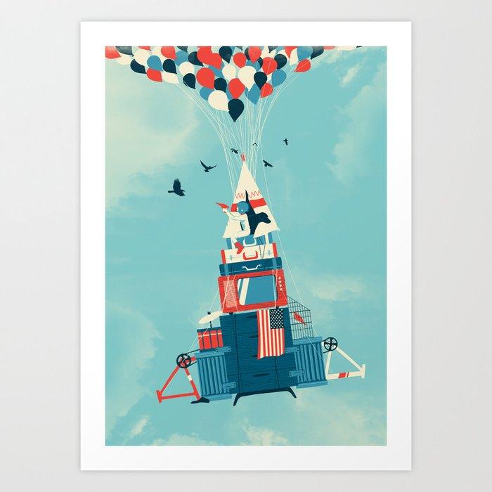 Rocket Boy Art Print