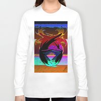 "wings Long Sleeve T-shirts featuring "" Wings ""  by shiva camille"