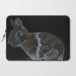 Rescued dwarf rabbit Laptop Sleeve