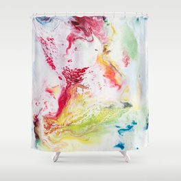 We Need More Rainbows Shower Curtain