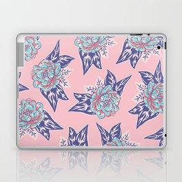 Cabbage Rose Tattoo Flash Laptop & iPad Skin