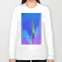 waterfall Long Sleeve T-shirts featuring Waterfall by DuckyB