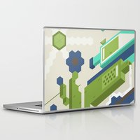 tequila Laptop & iPad Skins featuring Tequila Party by Bakal Evgeny