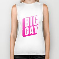 popsicle Biker Tanks featuring Popsicle by Big Gay