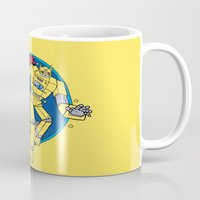 transformer Mugs featuring The Magic Transformer by Skylar Hogan
