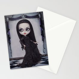 Morticia Addams Stationery Cards
