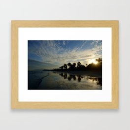 A Thai Sunset Framed Art Print