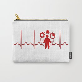 Project Manager Heartbeat Carry-All Pouch