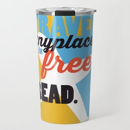 Travel - Just Read Travel Mug