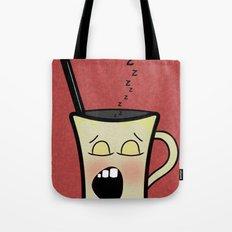 Sleepy Time Coffee  Tote Bag