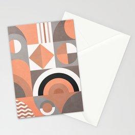 Colorful Geometric Art IV Stationery Cards