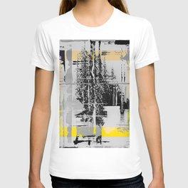 Sunday Morning - b/w graphic T-shirt