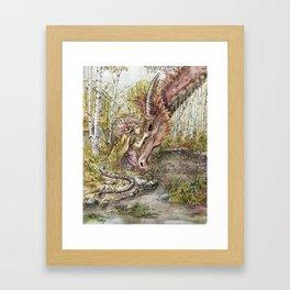 The Dragon's Sister Framed Art Print
