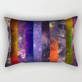 g a l a x y strips Rectangular Pillow