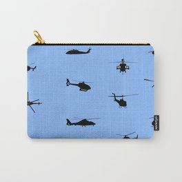 Helicopter Pattern Carry-All Pouch