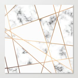 Marble Geometry 054 Canvas Print