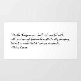 Niles Crane Art Print