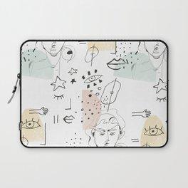 minimal summer Laptop Sleeve