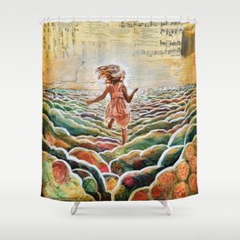 Heavenly Places Shower Curtain