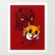 Devil in Disguise Art Print