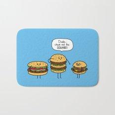 Burger Bullies Bath Mat