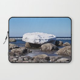 Perched on the Boulders Laptop Sleeve