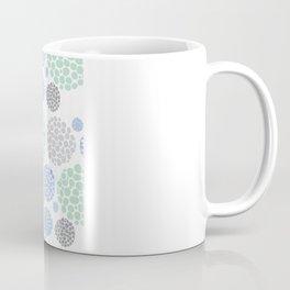 Stone Age Print- blue Coffee Mug