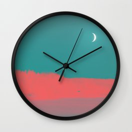 UNE NUIT AU CANADA Wall Clock