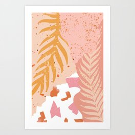 Palm Philosophy Art Print
