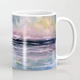 Coucher de soleil sur mer Coffee Mug