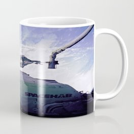 Astronauts Arm in Arm Coffee Mug