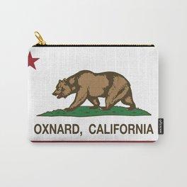 Oxnard California Republic Flag Carry-All Pouch