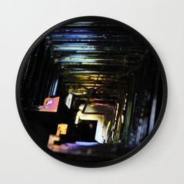 Handle Your Bismuth Wall Clock