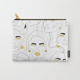 In Mustard Carry-All Pouch