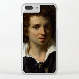"Théodore Géricault ""A Portrait Of A Young Man"" Clear iPhone Case"
