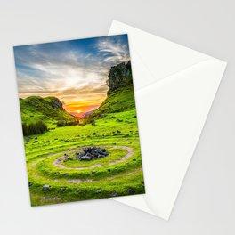 Fairytale Landscape, Isle of Skye, Scotland Stationery Cards