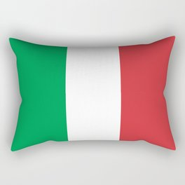 Flag of Italy, High Quality Authentic Rectangular Pillow