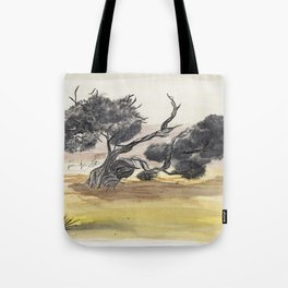 Coyote Ridge Tree Tote Bag