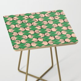 KEYAH - Green & pink Side Table