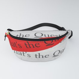WHAT´S THE QUESTION? Fanny Pack
