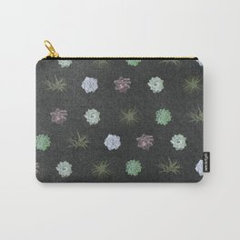 dark succulent pattern Carry-All Pouch