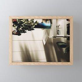 Drying roses Framed Mini Art Print