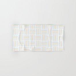Bright and Light Festive Weave Hand & Bath Towel