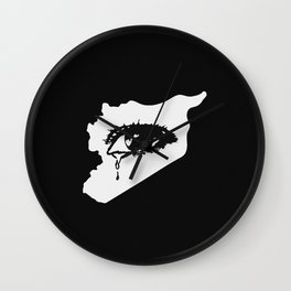 Mourn With Me Wall Clock