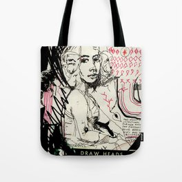 Drawn Attention Tote Bag