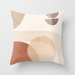 Abstract Minimal Shapes 16 Throw Pillow