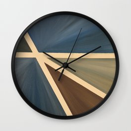 Left Wall Clock