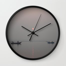 Safe Passage Wall Clock