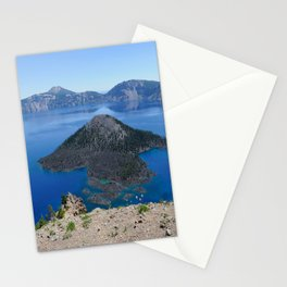 Crater Lake Volcanic Crater Oregon USA Stationery Cards