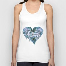Namaste in Blue Unisex Tank Top